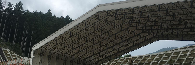 パーマリンク先: テント設置・解体工事